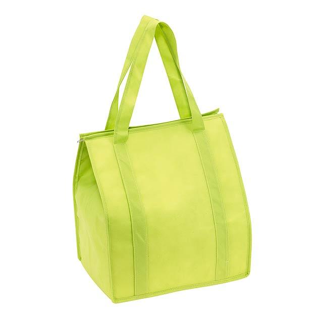 Chladící taška DEGREE - citrónová - limetková