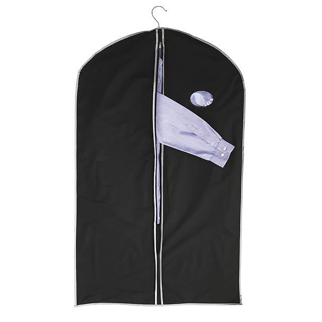 Praktická cestovní taška na oblečení CLEAN - černá