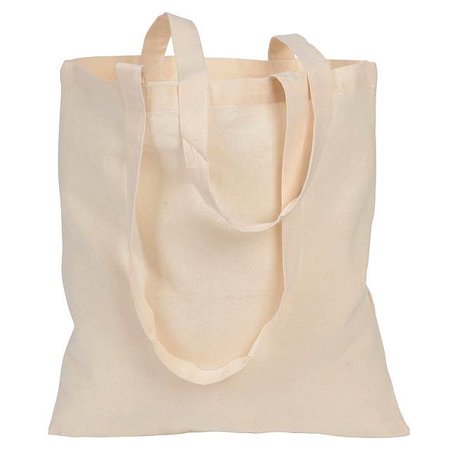 Bavlněná taška BIG PURE - béžová