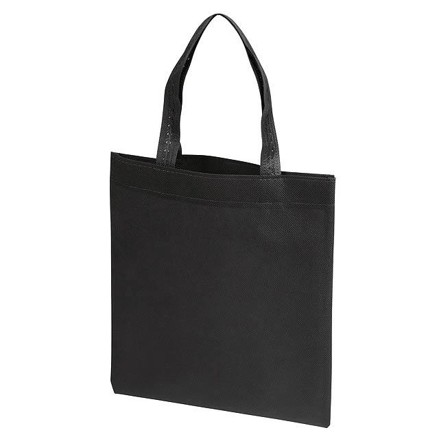 Malý nákupní taška LITTLE MARKET - černá
