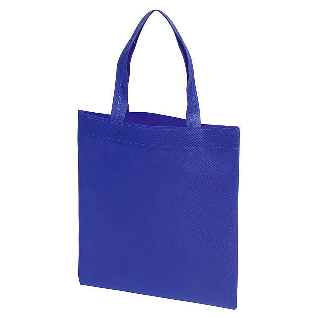 Malý nákupní taška LITTLE MARKET - modrá