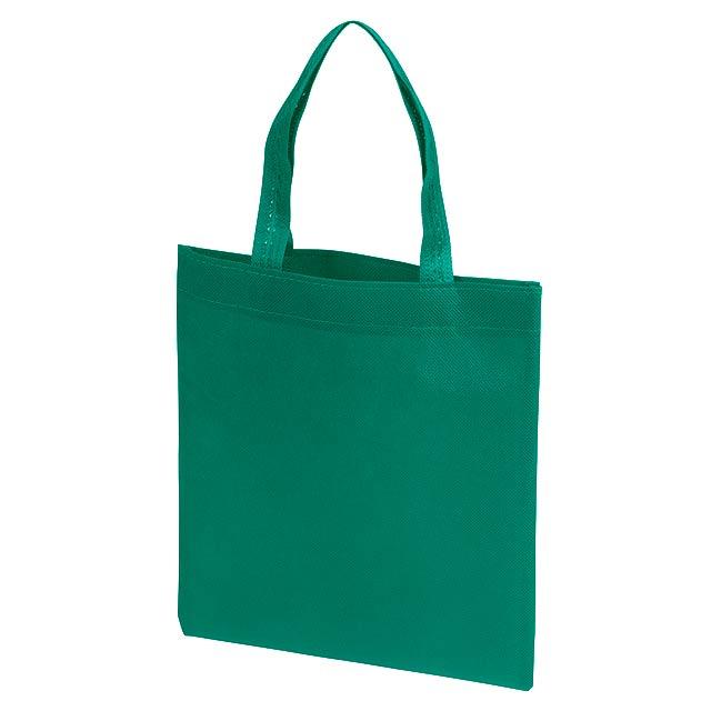Malý nákupní taška LITTLE MARKET - zelená