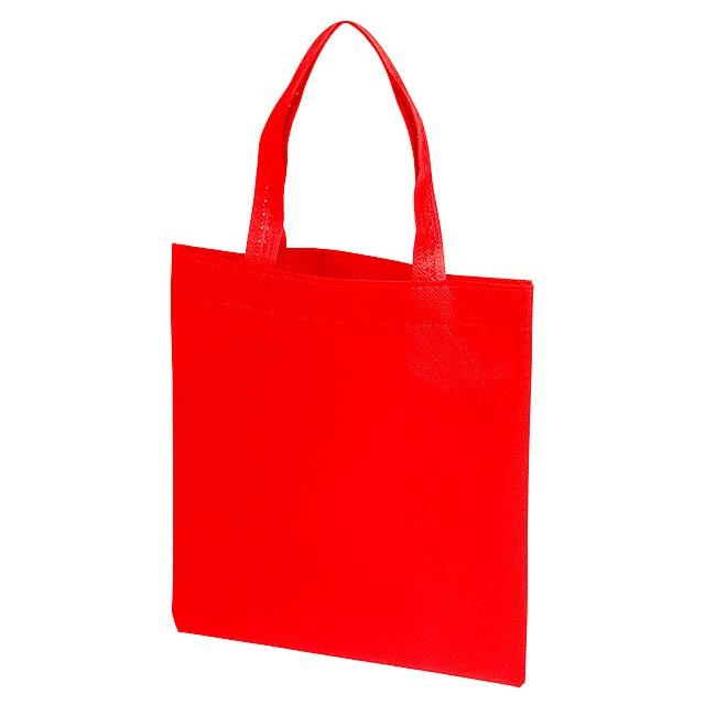 Malý nákupní taška LITTLE MARKET - červená