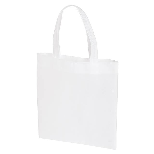 Malý nákupní taška LITTLE MARKET - bílá