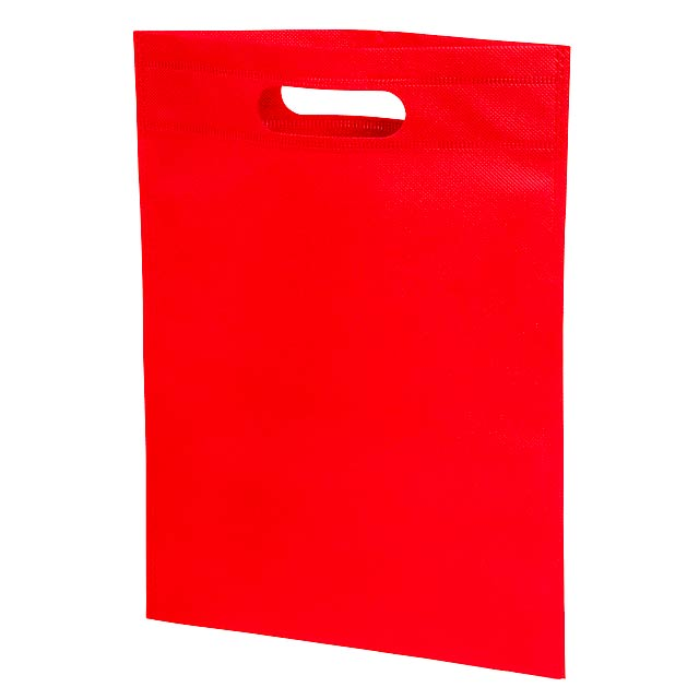 Small shopping bag STORE - red