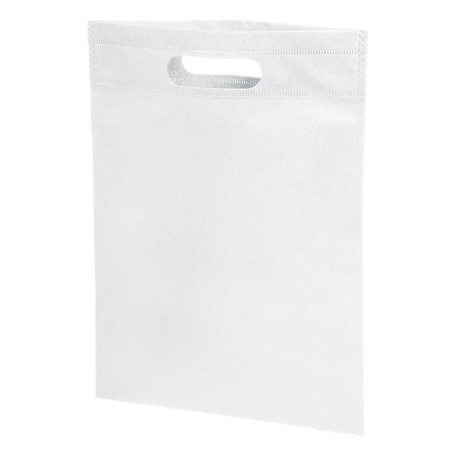 Small shopping bag STORE - white