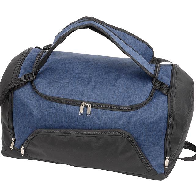 Sportovní taška 2 IN 1 - modrá