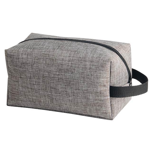 Toaletní taška DONEGAL - šedá