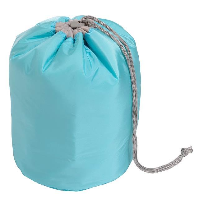 Toaletní taška TUBE - nebesky modrá