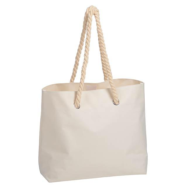 Plážová taška CAPRI - béžová