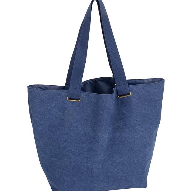 Plážová taška KORSIKA - modrá