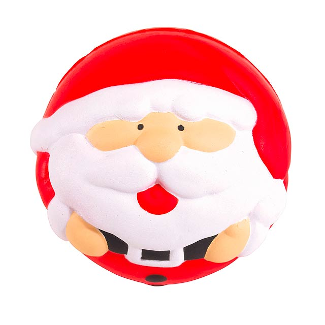 Anti-Stressball SANTA CLAUS - multicolor