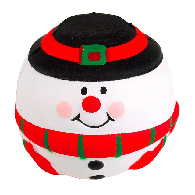 Anti-Stressball SNOWMAN - multicolor