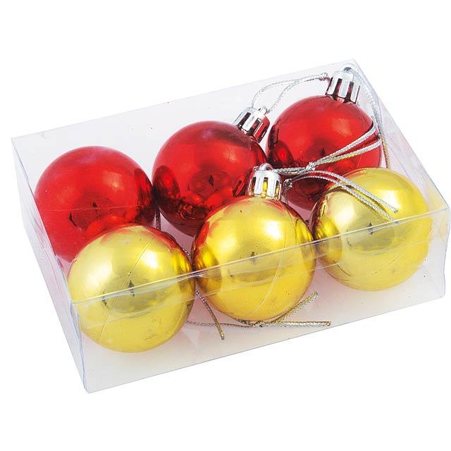 Christmas ornaments XMAS LINE - gold