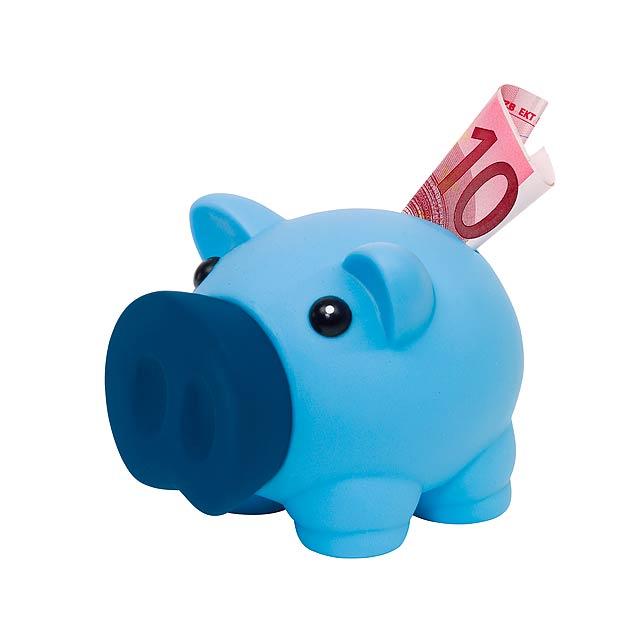 Kasička MONEY COLLECTOR - modrá