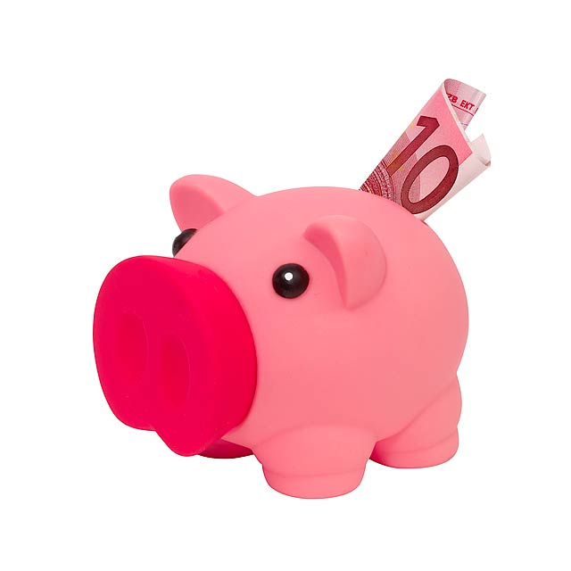 Kasička MONEY COLLECTOR - růžová