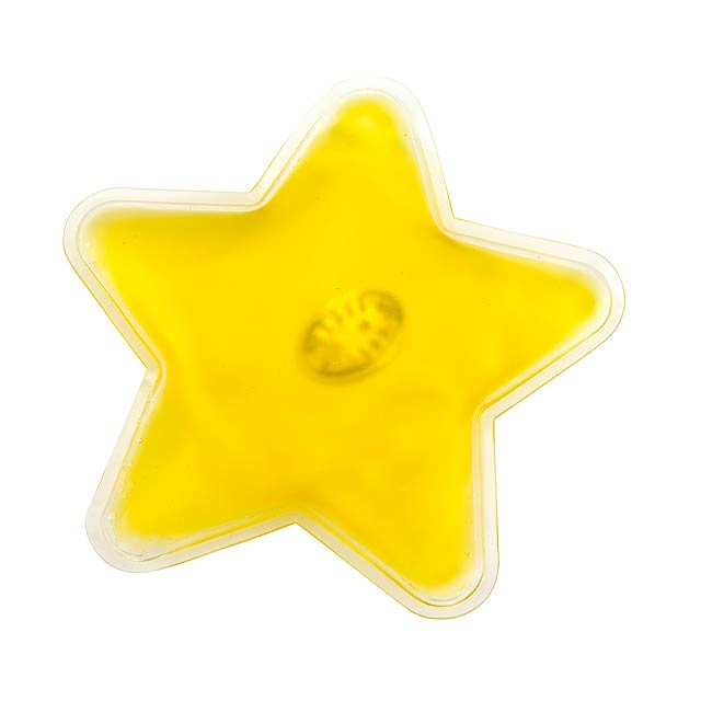Pocket warmer WARM STAR - yellow