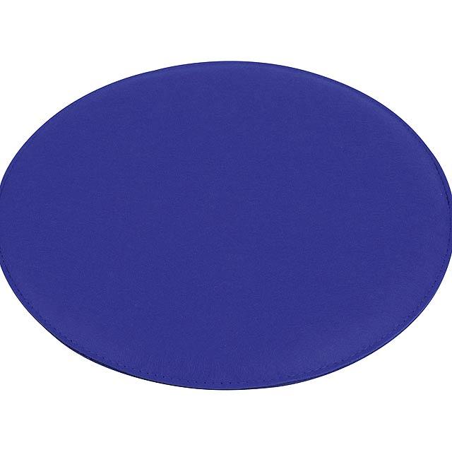 Pohodlný polstrovaný sedák SIT DOWN - modrá