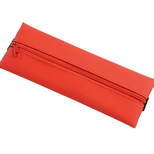 Zápisníkové pouzdro na tužky KEEPER - červená