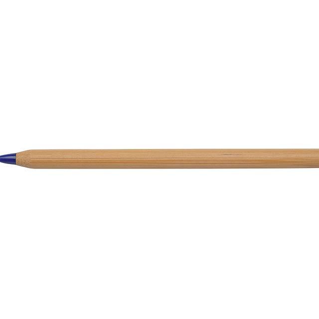 Bamboo Ballpen ESSENTIAL, blue - blau