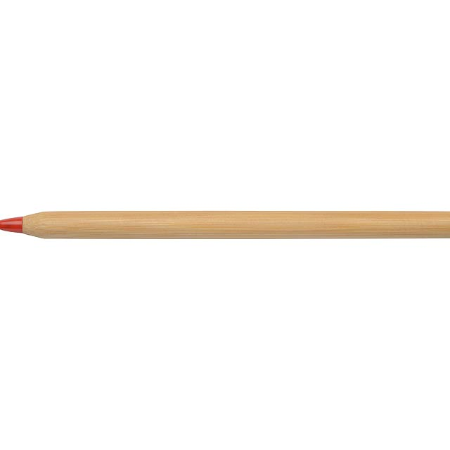 Bamboo Ballpen ESSENTIAL, red - Rot