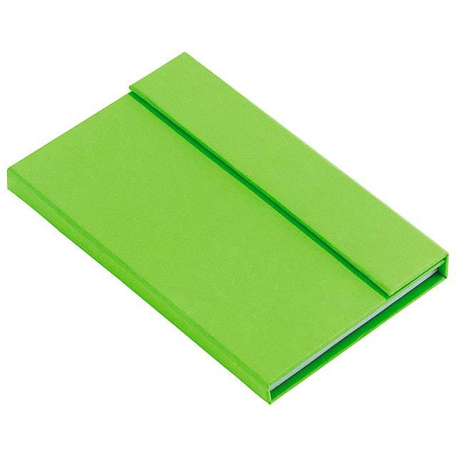 Blok LITTLE NOTES - zelená