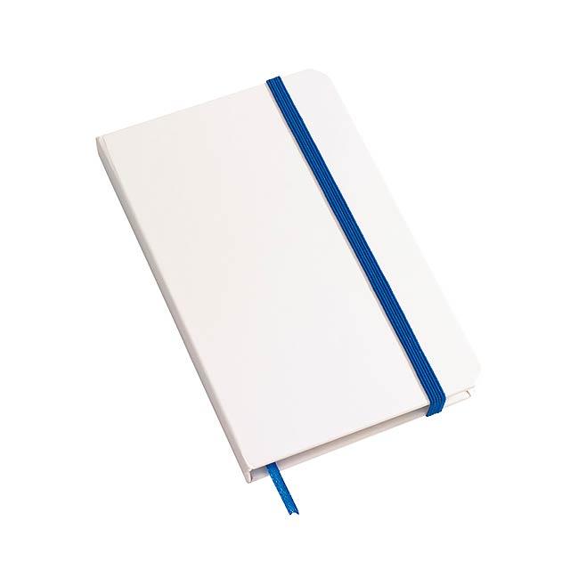 Poznámkový blok AUTHOR ve formátu DIN A6 - modrá
