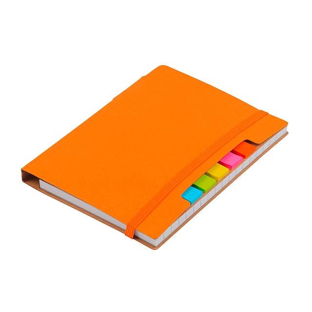 Poznámkový blok PENZ - oranžová