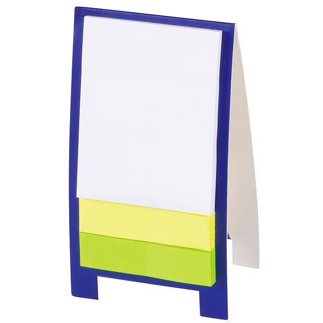 Mini display stand ADVERT - blue