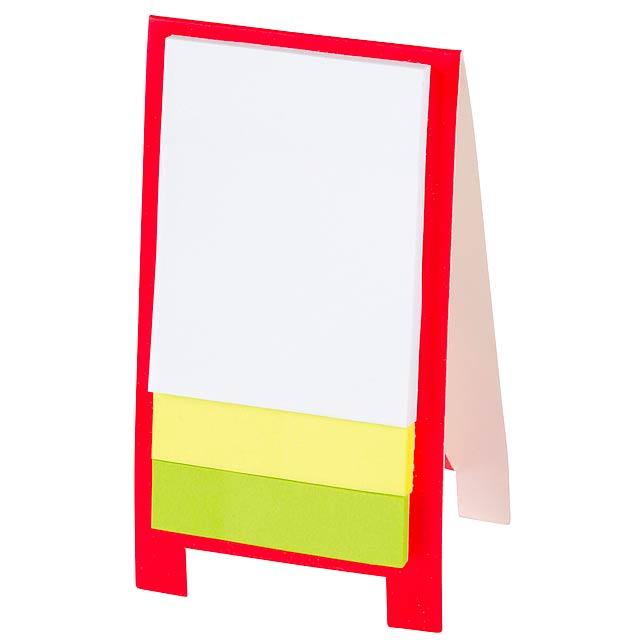Mini display stand ADVERT - red