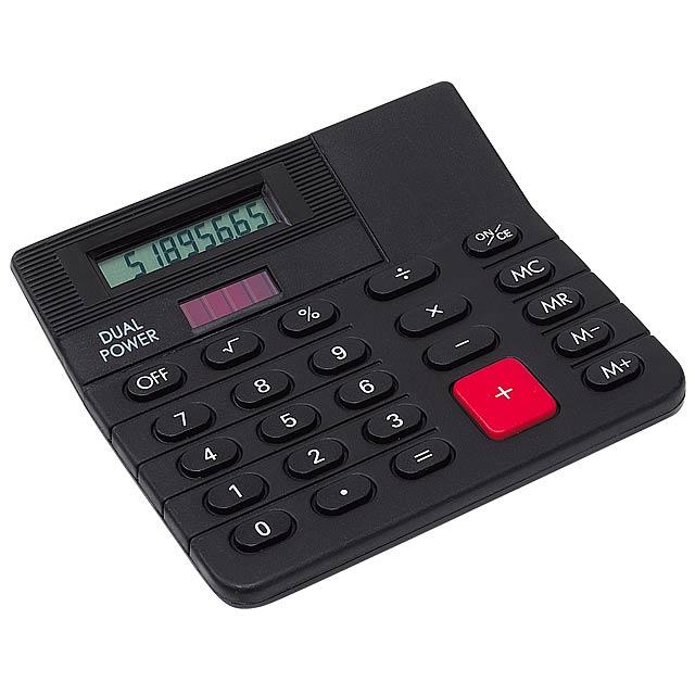 Duálny kalkulačka CORNER - čierna