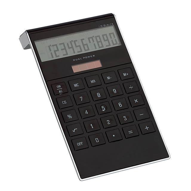 10-digit calculator DOTTY MATRIX - black