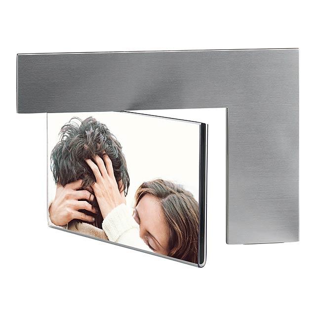 Fotorámeček ARC - stříbrná