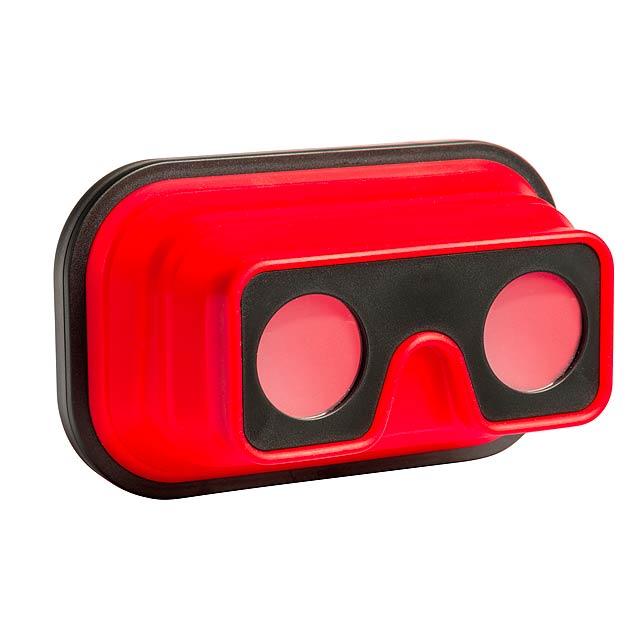 VR brýle IMAGINATION FLEX - červená