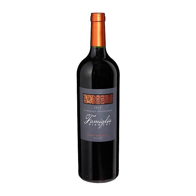 Červené víno, 2013 FAMIGLIA BIANCHI - Cabernet Sauvignon -