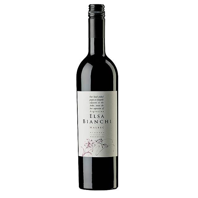 Červené víno, 2015 Elsa Bianchi - Malbec -