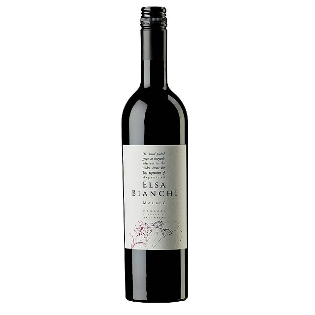 Red Wine, 2015 ELSA BIANCHI - MALBEC -