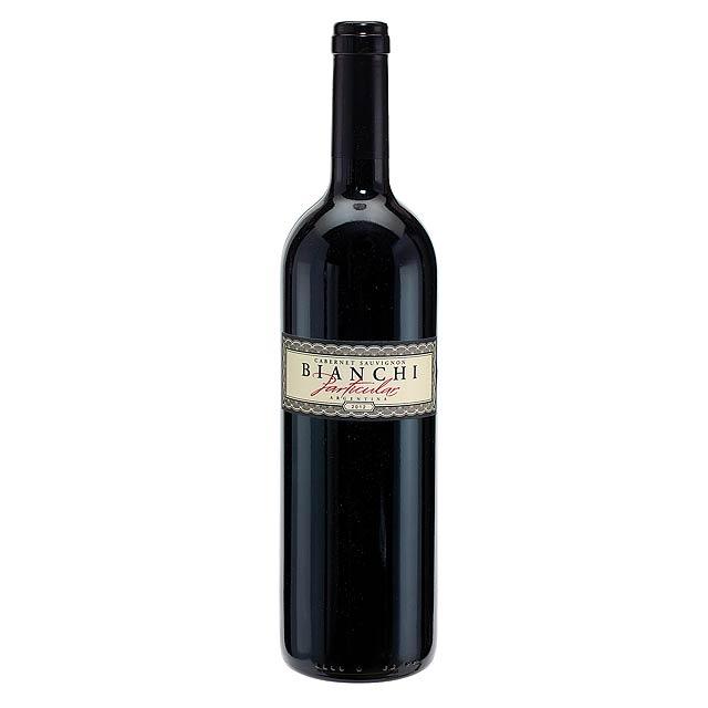 Červené víno, 2012 BIANCHI zejména - Cabernet Sauvignon -