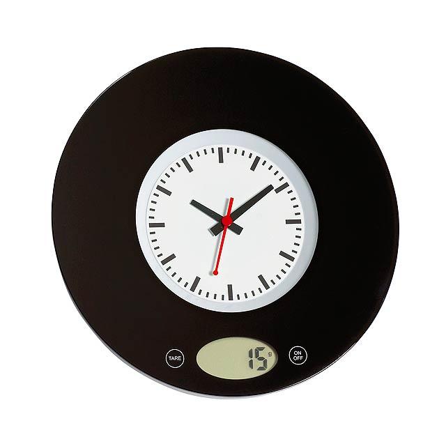 Kuchyňská váha TIME - černá