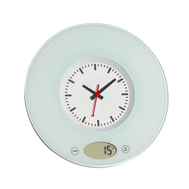 Kuchyňská váha TIME - bílá