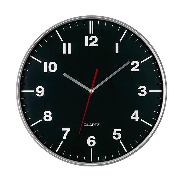 Nástenné hodiny Hemery - strieborná