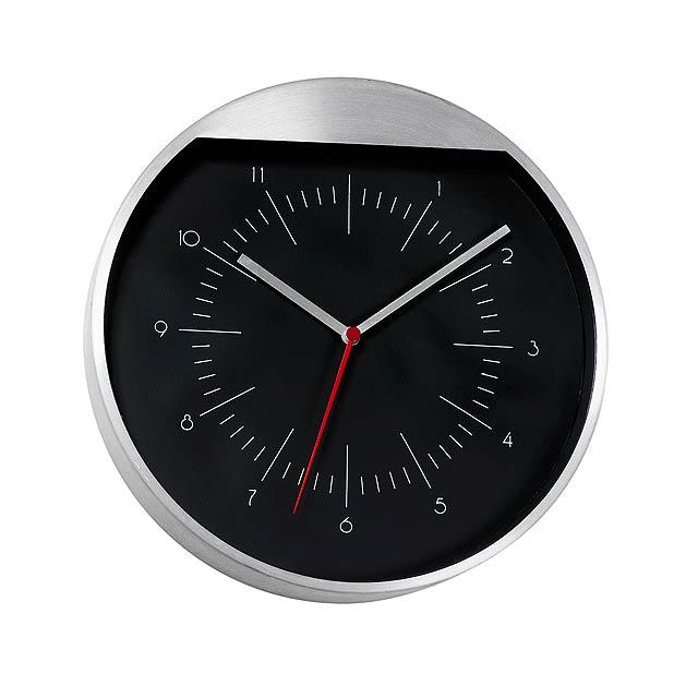 Nástenné hodiny ROUNDABOUT - strieborná