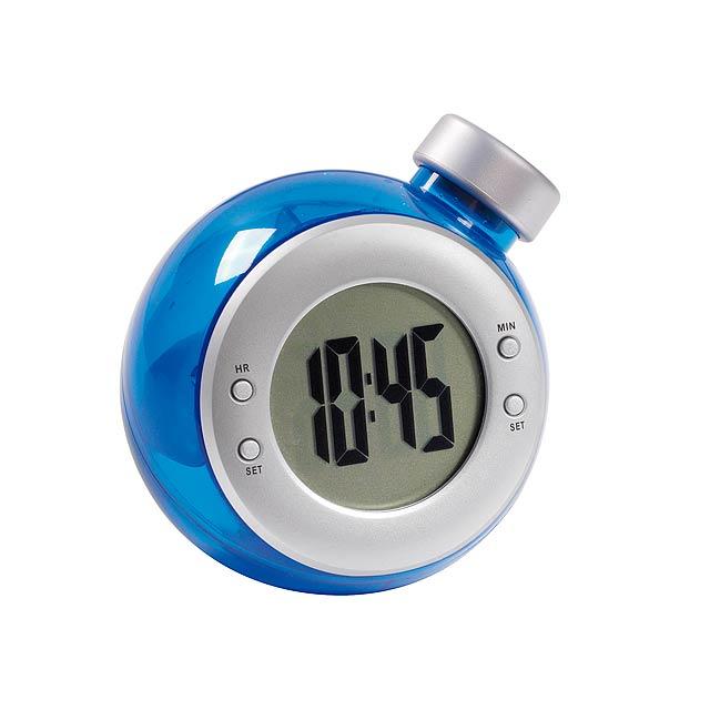 Stolové hodiny DEEP BLUE - modrá