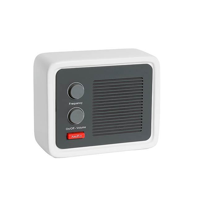 Rádio ICE RADIO - biela
