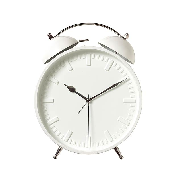Wall clock RING RING - white