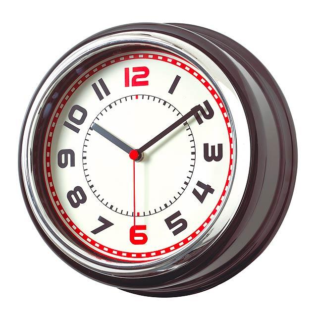 Nástenné hodiny KRAJINA - strieborná