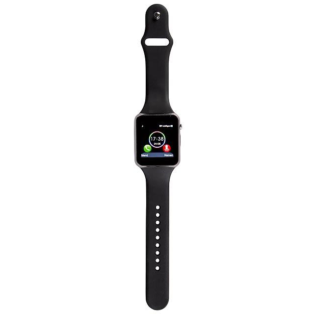 Chytré hodinky SmartWatch CONNECT - černá
