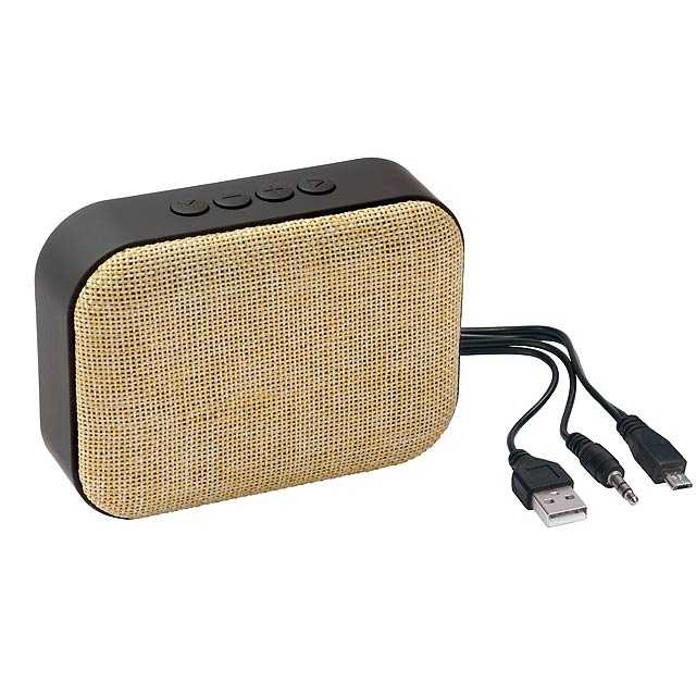 Bluetooth reproduktor MESHES - béžová