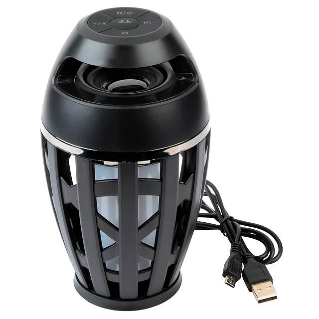 Bluetooth reproduktor BONFIRE - černá