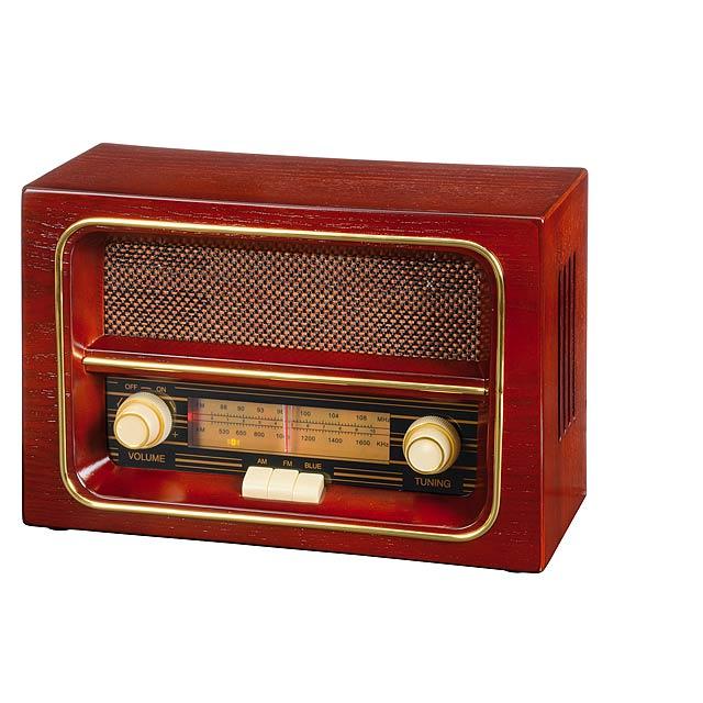 Rádio AM / FM RECEIVER - hnedá